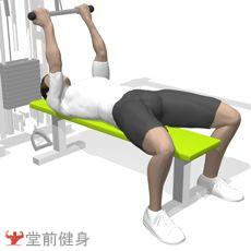 拉力器臂屈伸(双臂)