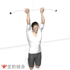 窄距反握引体向上