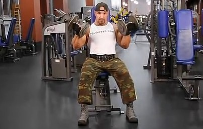 锻炼肱二头肌